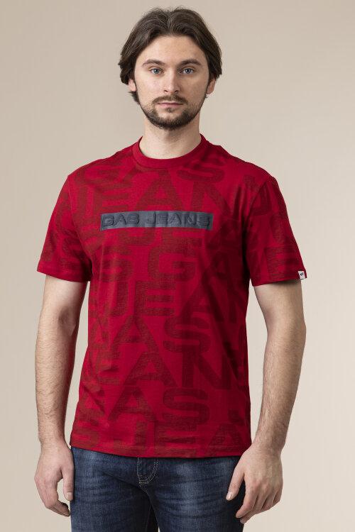 T-Shirt Gas A0244_DHARIS/R ALL GAS_0229 czerwony
