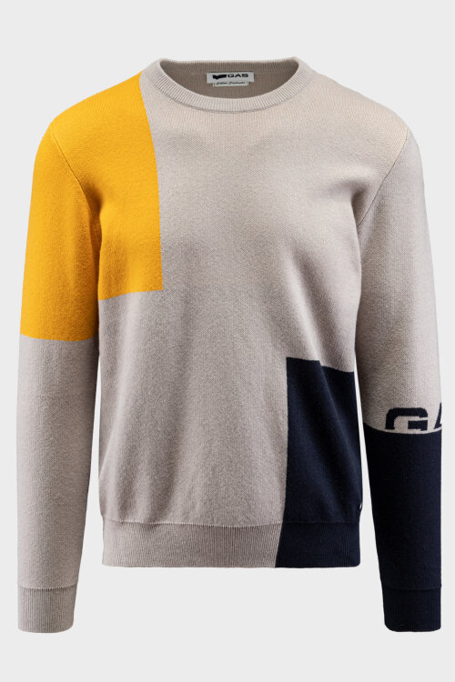 Sweter Gas 2081_THORE/R_1914 szary