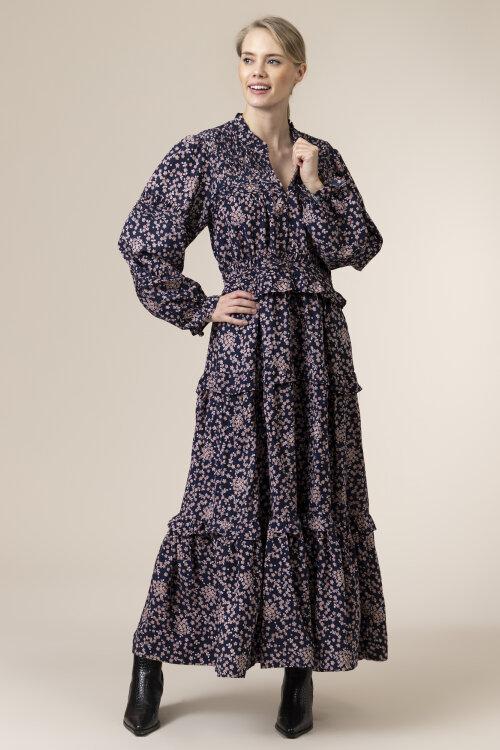 Sukienka Lollys Laundry 21109_3045_FLOWER PRINT granatowy
