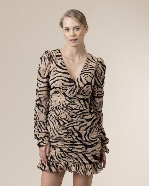 Sukienka Na-Kd 1018-005096_ZEBRA beżowy
