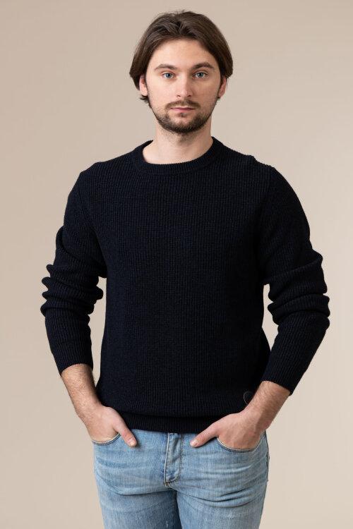 Sweter Trussardi Jeans 52M00397_0F00555_U290 granatowy