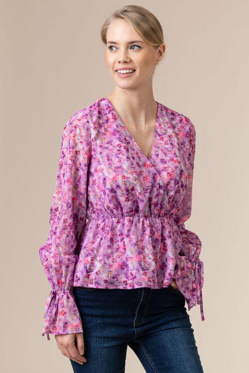 Bluzka Na-Kd 1018-006381_LILAC FLOWER fioletowy
