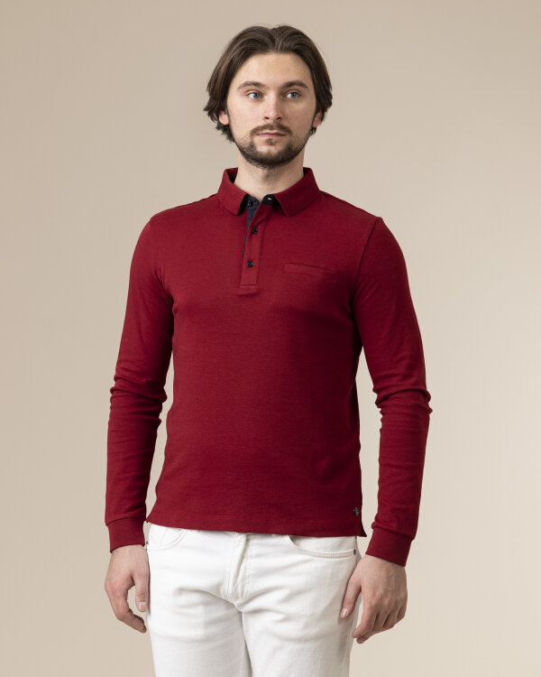 T-Shirt Pierre Cardin 02310_53014_5205 bordowy