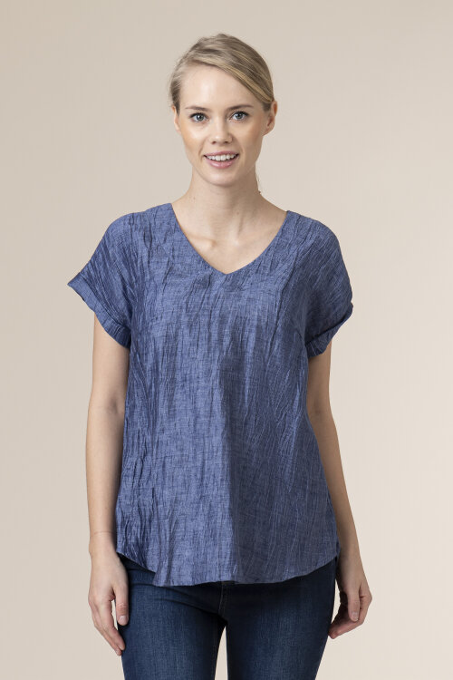 Bluzka Malgrau 2087A_NIEBIESKI niebieski
