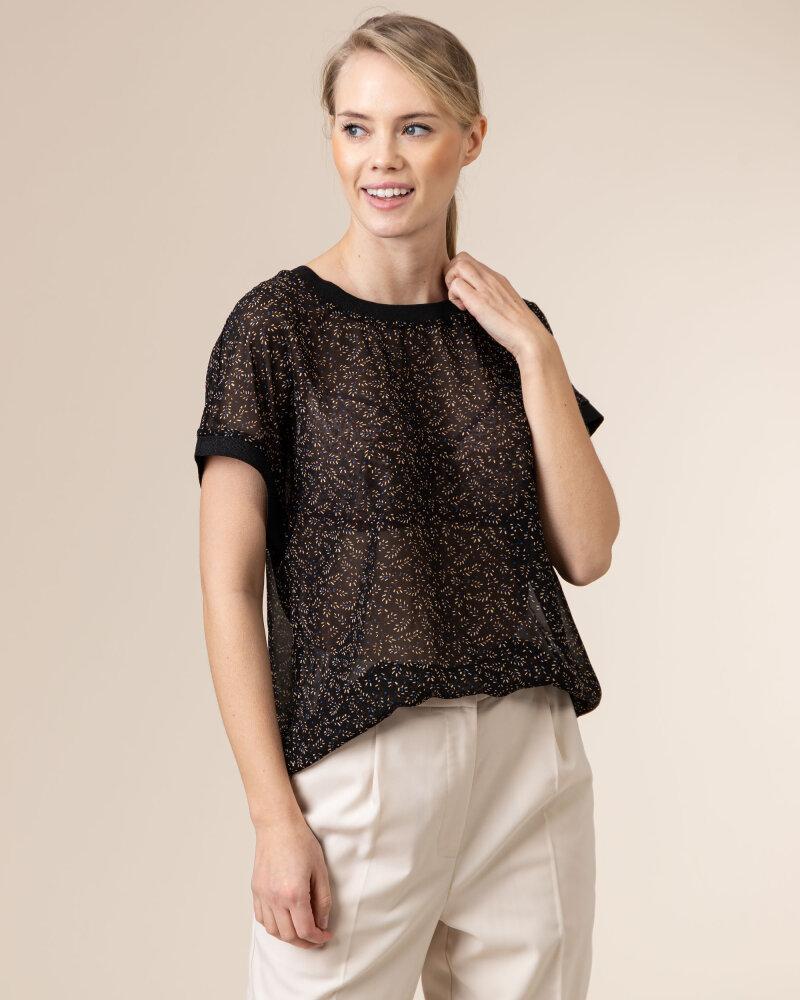Bluzka Co'Couture 75787_NORMA_96 BLACK czarny - fot:2