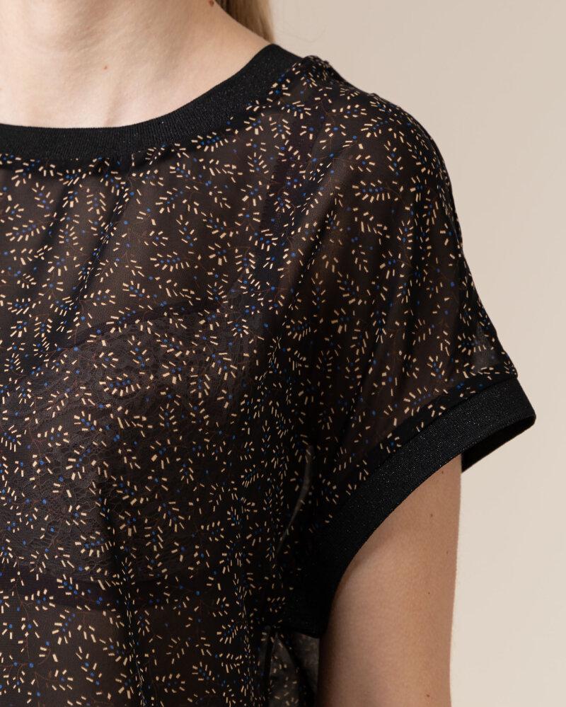Bluzka Co'Couture 75787_NORMA_96 BLACK czarny - fot:3