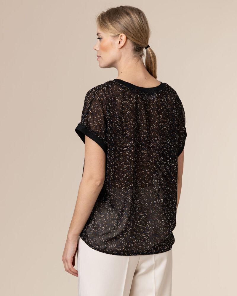 Bluzka Co'Couture 75787_NORMA_96 BLACK czarny - fot:4