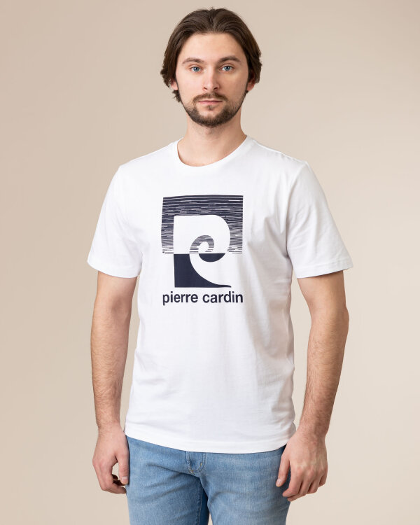 T-Shirt Pierre Cardin 02276_52260_1000 biały