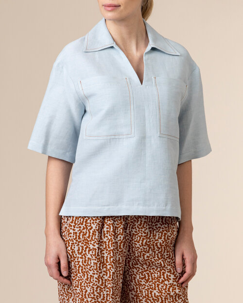 Bluzka Beatrice B 21FE4760TRE_520 niebieski