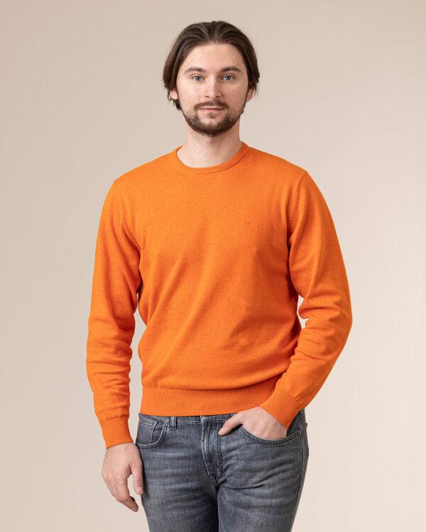Sweter Redmond 500_209 pomarańczowy