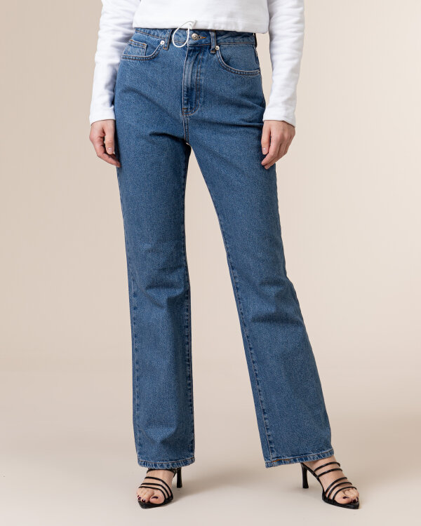 Spodnie Na-Kd 1660-000211_MID BLUE niebieski
