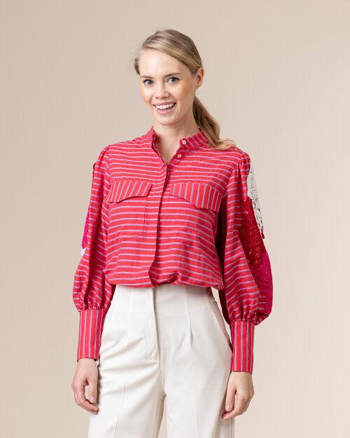 Koszula Beatrice B 21FE473482725_220 czerwony