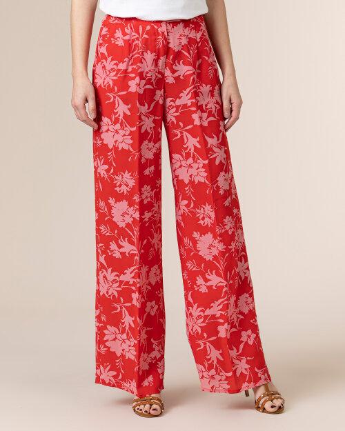 Spodnie Beatrice B 21FE1509CIR33_360 czerwony