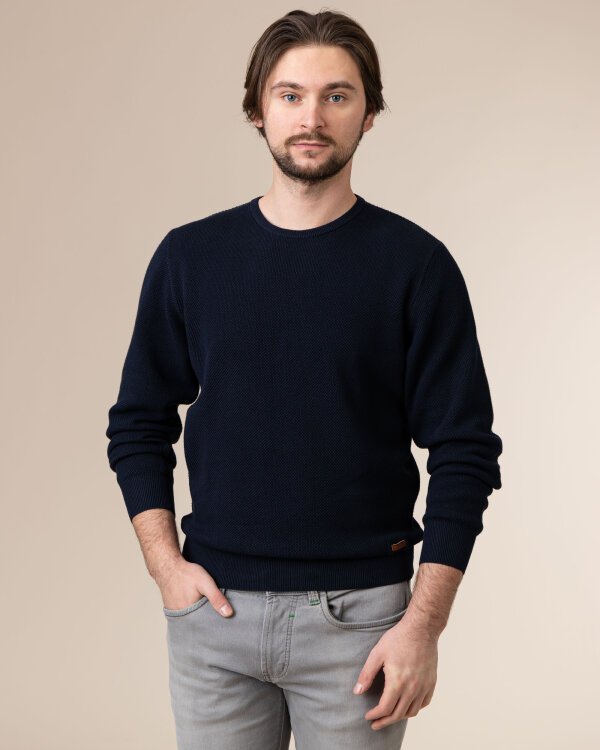 Sweter Redmond 211810600_11 granatowy