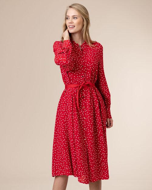 Sukienka Iblues 72212011_LIPARI_004 czerwony