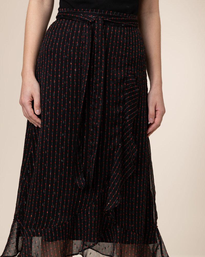 Spódnica Co'Couture 74087_FRACTAL_96 BLACK czarny - fot:3