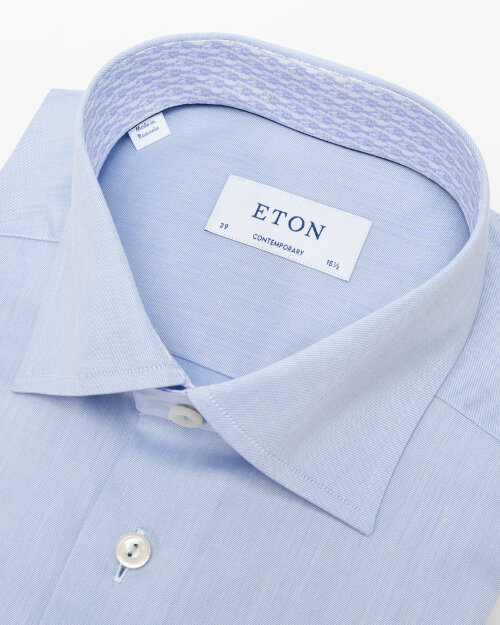Koszula Eton 1000_03058_21 niebieski