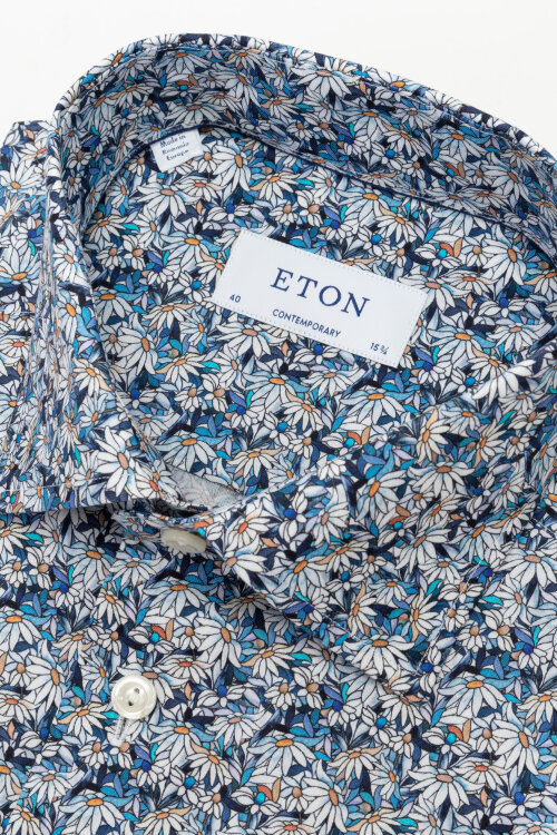 Koszula Eton 1000_02212_25 niebieski