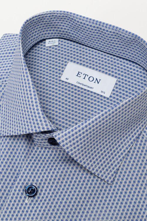 Koszula Eton 1000_03038_25 niebieski