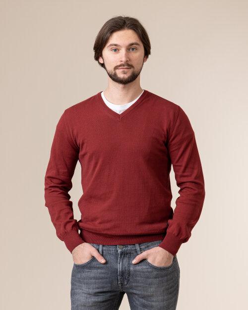 Sweter Baldessarini 5022_40004_4304 bordowy