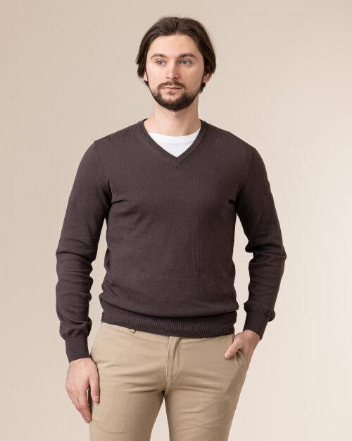 Sweter Baldessarini 5022_40004_8308 brązowy