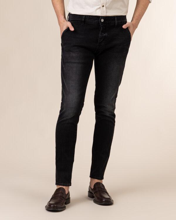 Spodnie Dondup UP555I_DSE298U_999 czarny