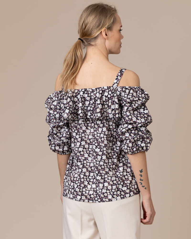 Bluzka Co'Couture 75852_POPPY_120 NAVY granatowy - fot:4