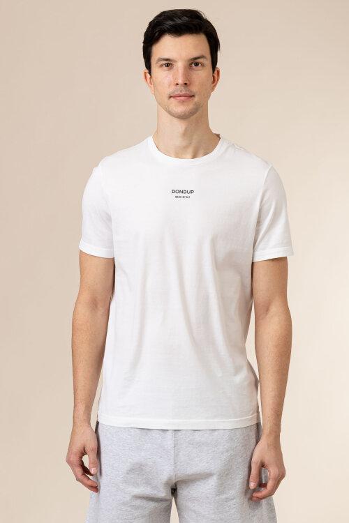 T-Shirt Dondup US198_JF0269U_000 biały