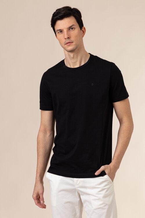 T-Shirt Dondup US198_JF0283U_999 czarny