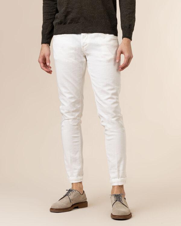 Spodnie Dondup UP232_BS0030U_001 biały