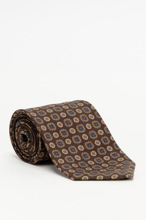 Krawat Stenstroms 913196_002 brązowy
