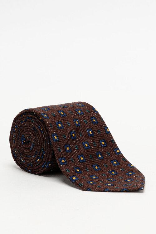 Krawat Stenstroms 913184_002 brązowy