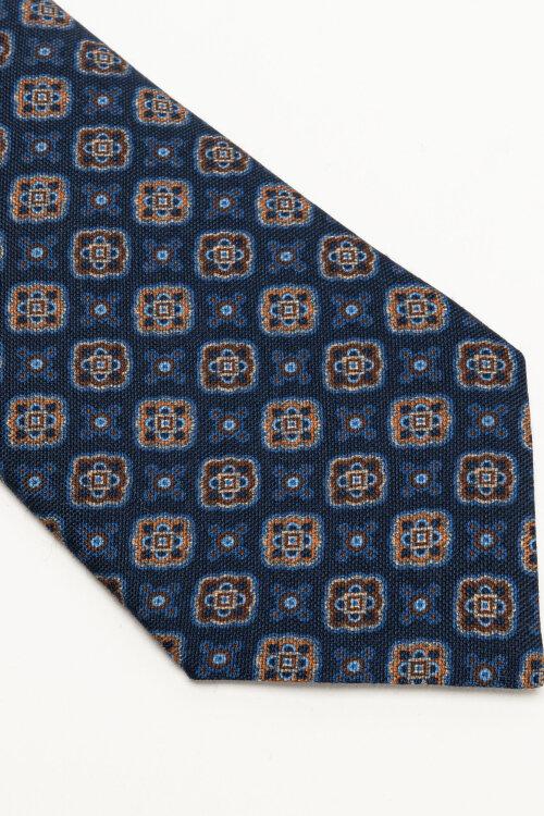 Krawat Stenstroms 913186_005 niebieski