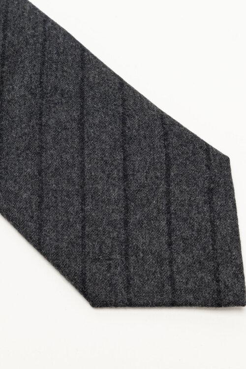 Krawat Oscar Jacobson 6580_5276_166 Ciemnoszary Oscar Jacobson 6580_5276_166 ciemnoszary
