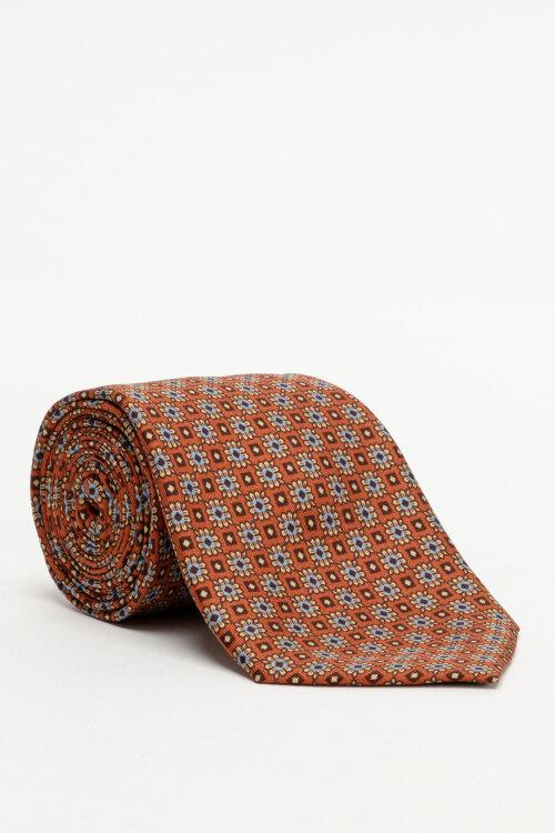 Krawat Stenstroms 913187_001 pomarańczowy