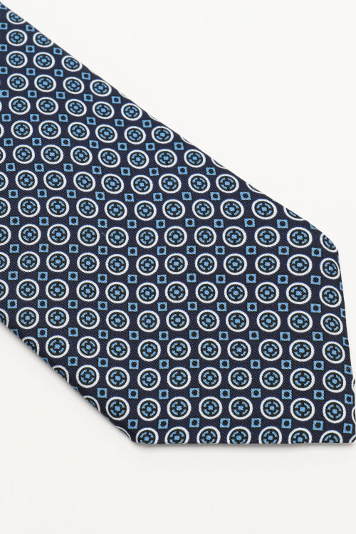 Krawat Stenstroms 913185_001 granatowy