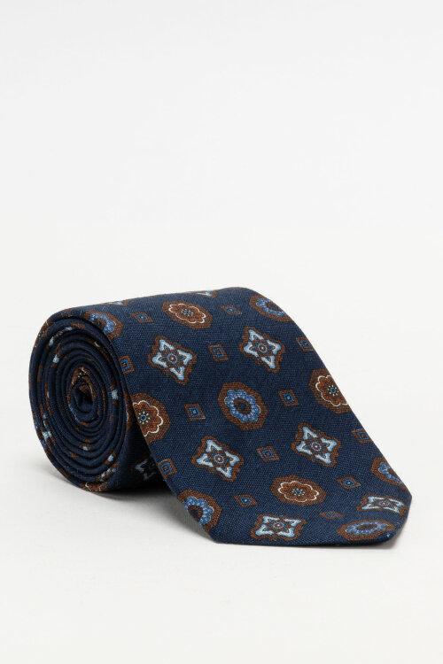 Krawat Stenstroms 913186_004 granatowy