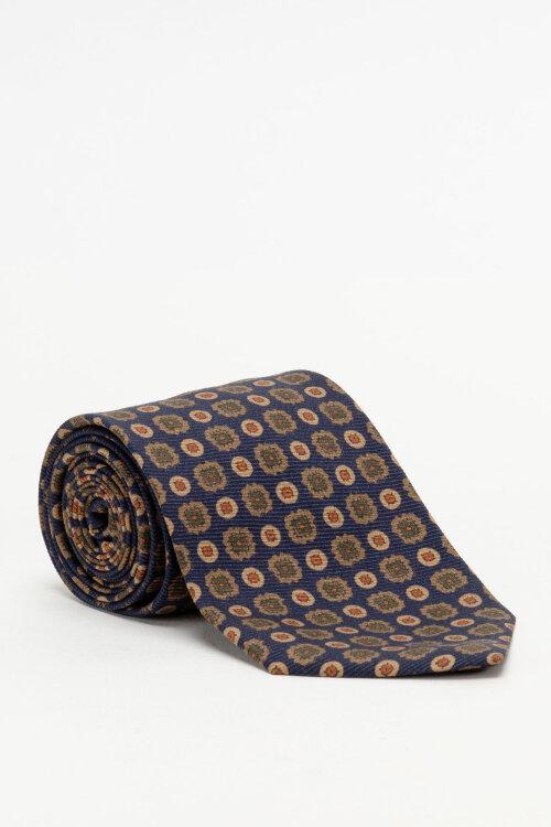 Krawat Stenstroms 913196_001 granatowy
