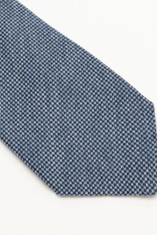 Krawat Stenstroms 913203_003 niebieski