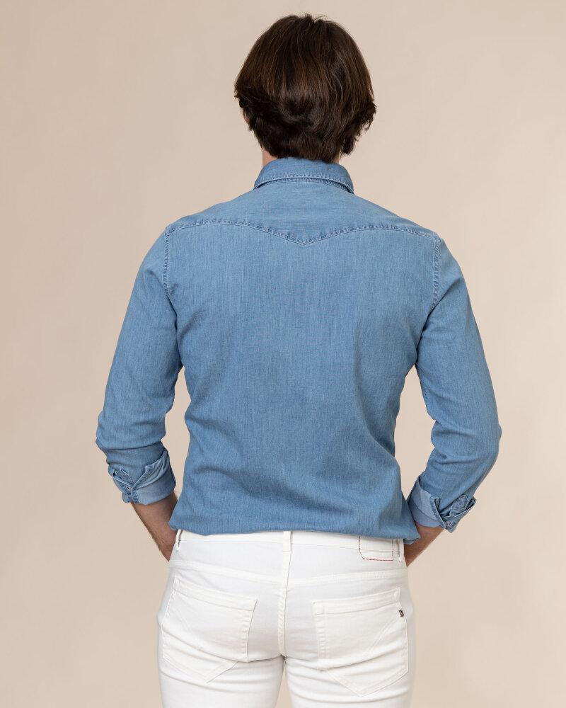 Koszula Stenstroms 778921_7995_810 niebieski - fot:4