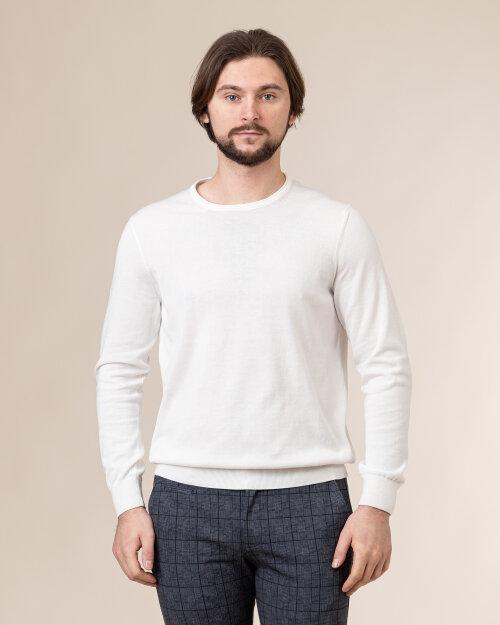 Sweter Bugatti 75518_8 7400_020 biały