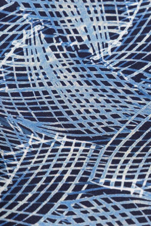 Poszetka Eton A000_33020_25 niebieski