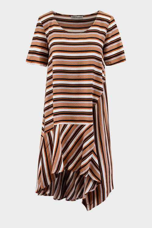 Sukienka Trussardi Jeans 56D00515_1T005182_B743 brązowy