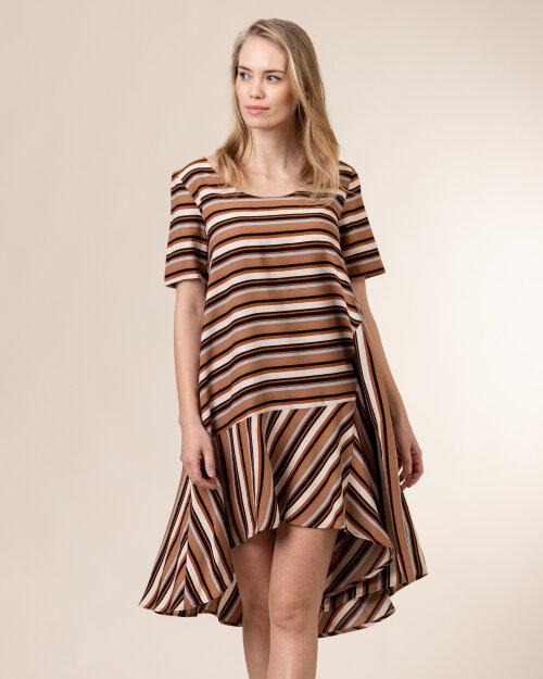 Sukienka Trussardi  56D00515_1T005182_B743 brązowy