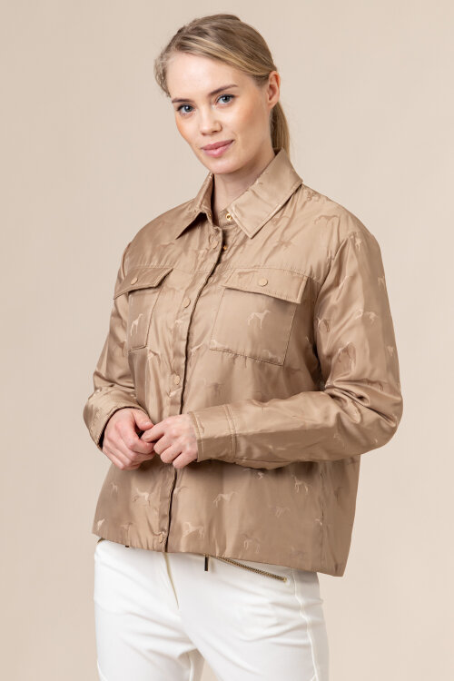 Kurtka Trussardi Jeans 56S00585_1T004798_W105 beżowy