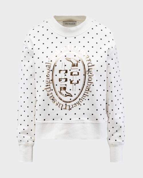 Bluza Trussardi  56F00131_1T005058_W009 biały