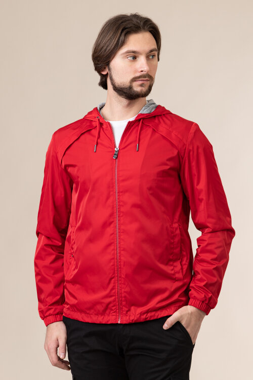 Kurtka Trussardi Jeans 52S00598_1T005275_R145 czerwony