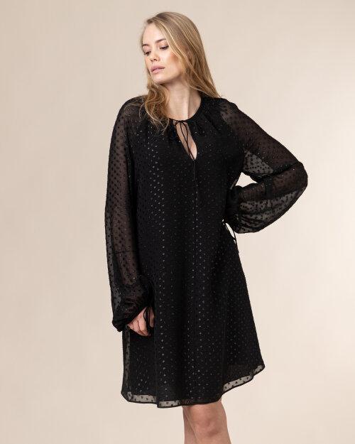 Sukienka Trussardi  56D00487_1T004930_K299 czarny