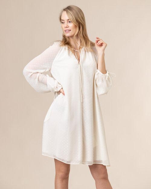 Sukienka Trussardi  56D00487_1T004930_W009 biały