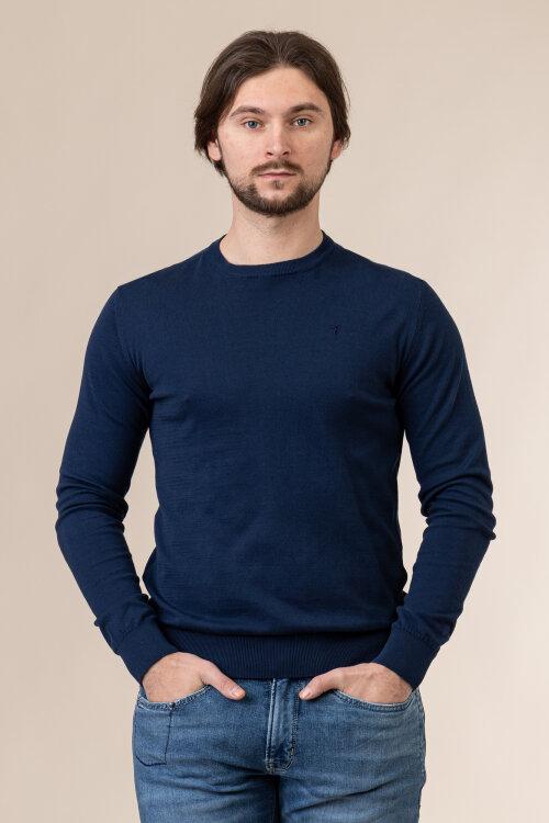 Sweter Trussardi Jeans 52M00477_0F000668_U290 granatowy